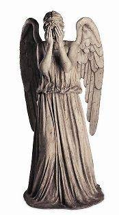 WEEPING ANGEL DOCTOR WHO LIFESIZE CARDBOARD CUTOUT