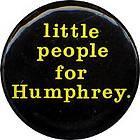 1968 Hubert Humphrey Muskie Campaign Pinback Button