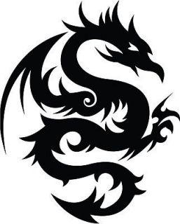 Dragon Tribal Dragons Car Decal Window Sticker TRB002