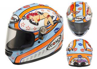 Suomy Vandal Pin Up Full Face Motorcycle Helmet X Small