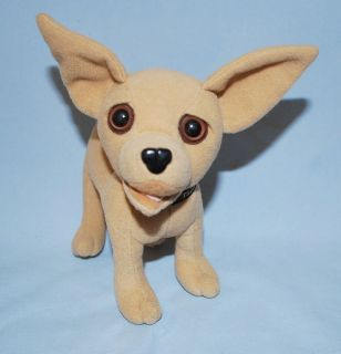 TALKING YO QUIERO TACO BELL DOG PLUSH ADVERTISING CHIHUAHUA APPLAUSE