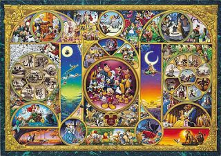 Japan Jigsaw Puzzle D 1000 301 Disney All Characters (1000 Pieces