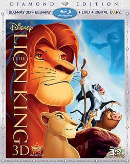 CENT 3 D Blu ray   Disneys The Lion King