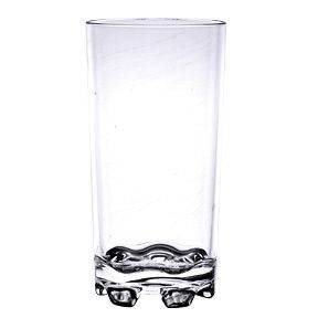 PLASTIC CLEAR UNBREAKABLE TUMBLER DRINK GLASS DRINKING GLASSES