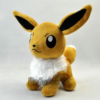 New Pokemon 12 EEVEE Rare Plush Soft Toy Doll^PC1770