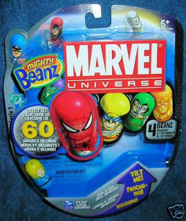 MIGHTY BEANZ INVISIBLE WOMAN MARVEL UNIVERSE FANTASTIC FOUR AVENGERS
