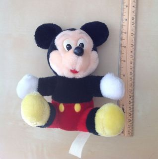 Vintage Disneyland Disney Mickey Mouse Plush Toy Stuffed Animal