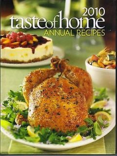 TASTE OF HOME ANNUAL RECIPES 2010 NEW BOOK HARDCOVER