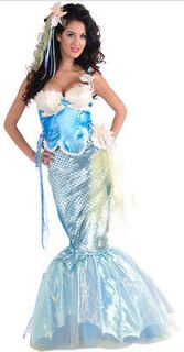 Tale Mermaid Halloween Holiday Costume Party X Small 2 6 Medium 8 12