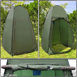 Green Camping Portable Changing Tent Camping Toilet Pop Up Room