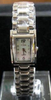 NIVADA SWISS WATCH SILVER STAINLESS STEEL HIGH QUALITY WATER RESISTANT