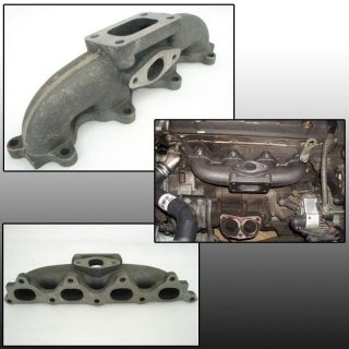 90 93 Accord Prelude F22 Turbo Exhaust Manifold t3 t3t4 Garrett t4e