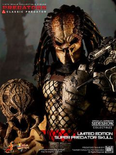Classic Predator Exclusive Hot Toys Sideshow 14 Figure New Sealed