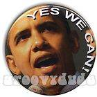 President Barack OBAMA 2008 Pin Button YES WE CAN Campaign 2012