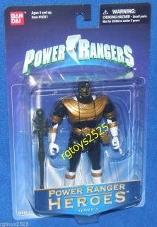 Power Rangers ZEO Gold Ranger New Series 5 Flip Head