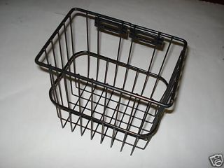 GO GOLF CART METAL WIRE BASKET SIDE BLACK 25874G01 25874 G01