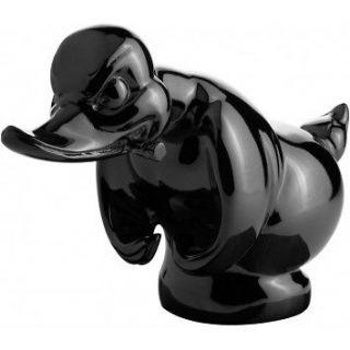 Black Death Proof Duck / Convoy Duck Hood Ornament Car Mascot Rat Rot