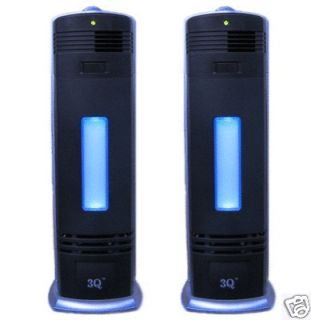 TWO NEW PRO IONIC FRESH BREEZE AIR PURIFIER IONIZER UV CLEANER,A