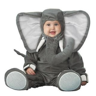 Baby Elephant Infant Halloween Costume Size 6 12 months NEW