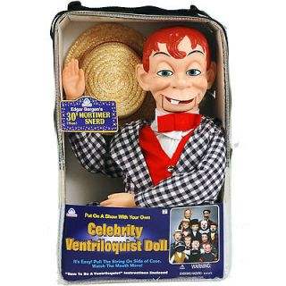 MORTIMER SNERD VENTRILOQUIST DUMMY DOLL PUPPET   NEW IN CARRYING CASE
