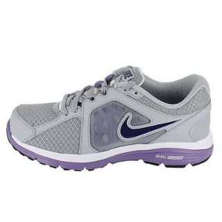 NIKE WMNS DUAL FUSION RUN WOLF GREY PURPLE WOMENS US SIZE 8.5, UK 6