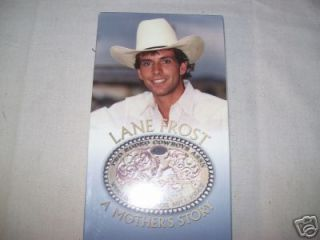 Lane Frost DVD Mothers Story bull riding rodeo gear equipment PBR NFR