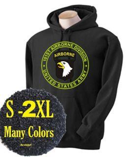101st 101 Airborne Sweatshirt Screaming Eagle Army Ranger Military