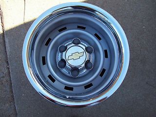 Chevy Truck 4x4 or 2WD 15X8 6 Lug Rally Wheels