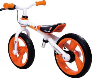 BOX* 2011 JD TC09 Bug Balance Bike Bicycle Orange / White 12 Wheels