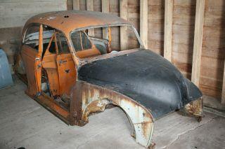 Morris Minor parts car project rat rod gasser hot rod