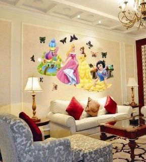 Princess Baby Kids Wall Decor Nursery Decal Stickers Removable Art