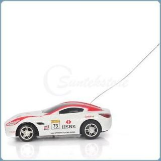 Mini RC Radio Remote Control White Racing Car Toy Vehicles Cool Gifts