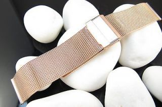 rose gold watch band in Wristwatch Bands