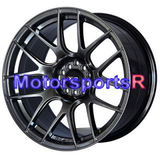 18 XXR 530 Chromium Black Concave Rims Staggered Wheels 03 04 07 08