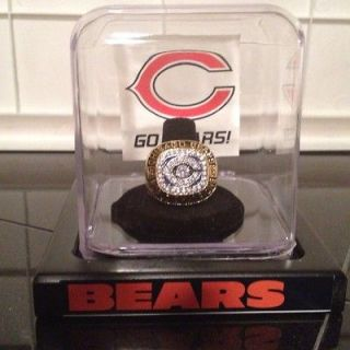 Best 1985 Chicago Bears Super Bowl Replica Championship Ring size 10