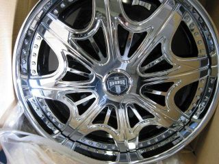 SPINNER WHEELS &TIRES DONK FLOATER ASANTI 28 ESCALADE FORGIATO 24