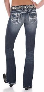 Rock 47 Womens Perfect Poison Ultra Low Rise Jeans by Wrangler