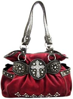 western rhinestone cross purse in Handbags & Purses