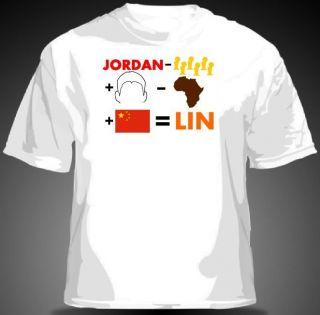 LIN  JORDAN Shirt Houston Rockets NBA MJ Michael MENS & YOUTH SIZES