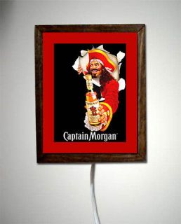 Captain Morgan Rum Pirate Costume Light Lighted Sign #1