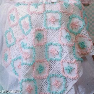 Crochet Pattern Central Baby Afghan : CROCHET RUFFLE ON AFGHAN ? Only New Crochet Patterns