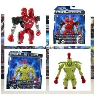 New Real Steel figures ( Twin Cities & Midas ) Zeus Noisy Boy Atom