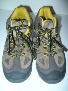 SWISS GEAR Table Rock Boys Waterproof Brown Suede Hiking Boots 6M Worn