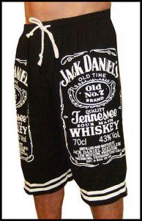 Jack Daniel Daniels DanielsNo 7 jd Wiskey New Black T Shirt Shorts