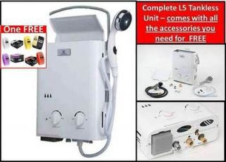 Eccotemp L5 Portable Tankless Water Heater & FREE Breo Skin Watch $11