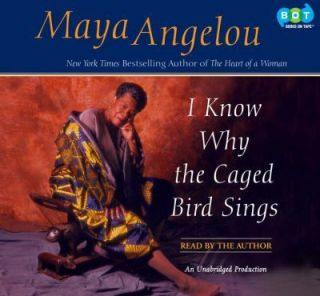 BOOK/AUDIOBOOK CD Maya Angelou Memoir Biography I KNOW WHY THE CAGED