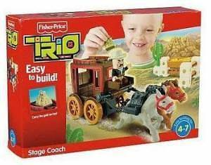 fisher price stagecoach in Pretend Play & Preschool
