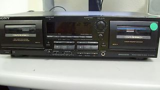 sony stereo cassette deck in TV, Video & Home Audio