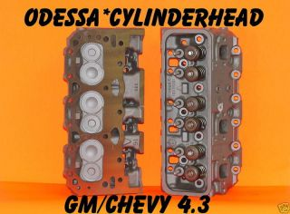 GM CHEVY S10 ASTRO VAN 4.3 CYLINDER HEADS CAST IRON
