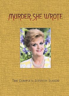 Murder She Wrote   The Complete Seventh Season DVD, 2007, 5 Disc Set